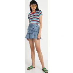 Minispódniczki: Miss Sixty SETH SKIRT Spódnica trapezowa blue denim