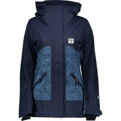 Bomberki damskie: Kurtka narciarska w kolorze granatowo-niebieskim