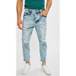 Only & Sons - Jeansy Beam. Niebieskie jeansy męskie relaxed fit marki Only & Sons. W wyprzedaży za 99,90 zł.