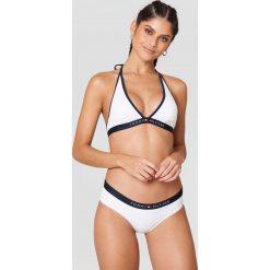 Stroje kąpielowe damskie: Tommy Hilfiger Dół bikini Hipster Bikini – White