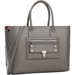 Torebka CREOLE - K10424 L316. Szare torebki klasyczne damskie Creole, ze skóry, duże. W wyprzedaży za 279,00 zł.