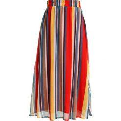Gestuz UNA  Długa spódnica multi. Brązowe długie spódnice Gestuz, z materiału. Za 549,00 zł.