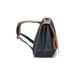 Teczki Tann's  LES BONS ENFANTS GALAXY CARTABLE 41CM. Niebieskie torebki klasyczne damskie Tann's. Za 287,20 zł.
