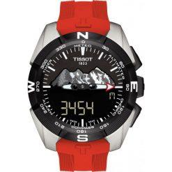 RABAT ZEGAREK TISSOT Special Collection T091.420.47.051.10. Czarne zegarki męskie TISSOT. W wyprzedaży za 3696,00 zł.