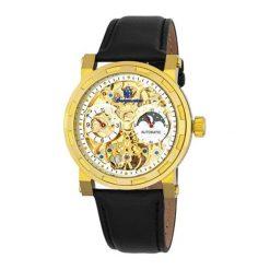 """Zegarki męskie: Zegarek """"Garden Grove"""" w kolorze złoto-czarnym"""