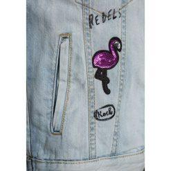 Blue Seven Kurtka jeansowa blau. Niebieskie kurtki dziewczęce przeciwdeszczowe Blue Seven, z bawełny. Za 169,00 zł.