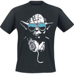 T-shirty męskie: Star Wars Yoda Cool T-Shirt czarny