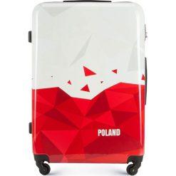 Walizka duża 56-3A-243-TR. Białe walizki marki Wittchen, z gumy, duże. Za 229,00 zł.