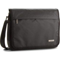 Torba na laptopa LANETTI - RM0296 Czarny. Czarne torby na laptopa marki Lanetti, z materiału. Za 99,99 zł.