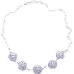 Naszyjniki damskie: Naszyjnik z perłami – (D)43 cm