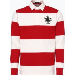 Polo Ralph Lauren - Męska bluza nierozpinana, czerwony. Czerwone bluzy męskie rozpinane Polo Ralph Lauren, m, z aplikacjami, z bawełny. Za 549,95 zł.