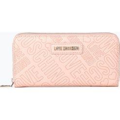 Love Moschino - Portfel damski, różowy. Czerwone portfele damskie Love Moschino. Za 439,95 zł.