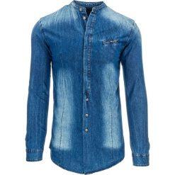 Koszule męskie jeansowe: Koszula męska jeansowa (dx0976)