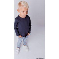 Longsleeve - Granat. Białe t-shirty chłopięce z długim rękawem marki UP ALL NIGHT, z bawełny. Za 89,00 zł.