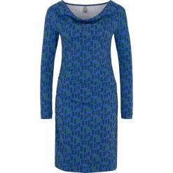 """Sukienki hiszpanki: Sukienka """"Ece"""" w kolorze niebieskim"""