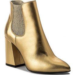 Buty zimowe damskie: Botki KAZAR - Alora 31313-01-13 Złoty