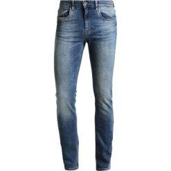 Pier One Jeansy Slim Fit blue denim. Niebieskie jeansy męskie marki Pier One. W wyprzedaży za 126,65 zł.