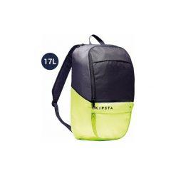 Plecak do sportów zespołowych Classic 17 L. Czarne plecaki męskie marki KIPSTA, m, z elastanu, z długim rękawem, na fitness i siłownię. Za 24,99 zł.