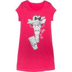Bielizna nocna: Koszula nocna bonprix różowy hibiskus z nadrukiem