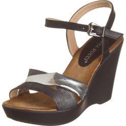 Rzymianki damskie: Sandały w kolorze czarnym