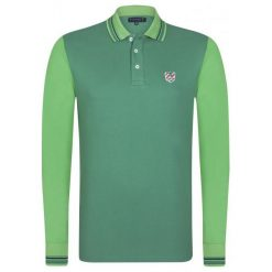 Sir Raymond Tailor Koszulka Polo Męska Block M Zielona. Zielone koszulki polo marki Sir Raymond Tailor, m, z bawełny. W wyprzedaży za 109,00 zł.