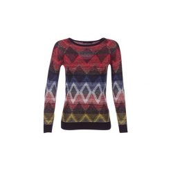 Swetry Desigual  TOROM. Brązowe swetry klasyczne damskie marki Desigual, s. Za 279,20 zł.