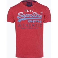 Superdry - T-shirt męski, czerwony. Czerwone t-shirty męskie Superdry, m, w gradientowe wzory. Za 149,95 zł.