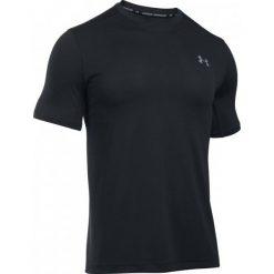 Koszulki do fitnessu męskie: Under Armour Koszulka Raid Microthread Ss Tee Black Black Steel L