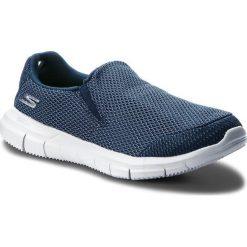 Buty SKECHERS - Infuse 14992/NVGY Navy//Grey. Niebieskie buty do fitnessu damskie marki Skechers. W wyprzedaży za 169,00 zł.