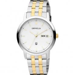 Zegarek kwarcowy w kolorze srebrno-biało-złotym. Szare, analogowe zegarki męskie Esprit Watches, ze stali. W wyprzedaży za 272,95 zł.