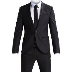 Noose & Monkey ELLROY SLIM FIT Garnitur black. Białe garnitury marki Noose & Monkey, m, z bawełny. W wyprzedaży za 831,20 zł.