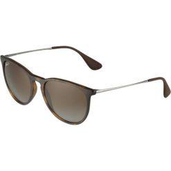 RayBan ERIKA Okulary przeciwsłoneczne brown. Brązowe okulary przeciwsłoneczne damskie marki Ray-Ban. Za 599,00 zł.