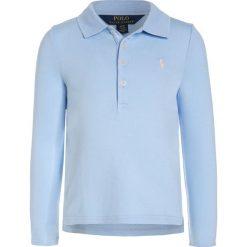 Polo Ralph Lauren Koszulka polo elite blue. Niebieskie bluzki dziewczęce bawełniane marki Adidas, z kontrastowym kołnierzykiem, z krótkim rękawem. W wyprzedaży za 148,85 zł.