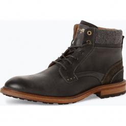 Pantofola d`Oro - Kozaki męskie ze skóry, szary. Szare buty zimowe męskie Pantofola d`Oro, ze skóry. Za 699,95 zł.