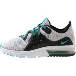 Buty do biegania męskie: Nike Performance AIR MAX SEQUENT 3 Obuwie do biegania treningowe white/hyper jade/black