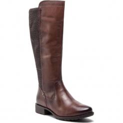 Oficerki JANA - 8-25601-21 Mocca 304. Brązowe buty zimowe damskie Jana, ze skóry ekologicznej, na obcasie. W wyprzedaży za 329,00 zł.