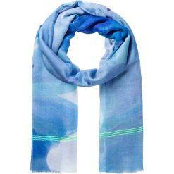 Chusty damskie: Chusta w kolorze błękitnym – 180 x 100 cm