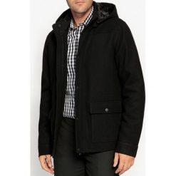 Płaszcze męskie: Płaszcz półdługi, wełna z domieszką