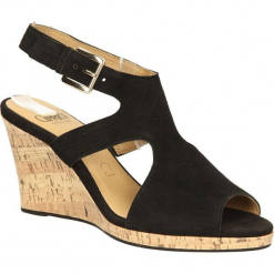 SANDAŁY CAPRICE 9-28304-34. Czarne sandały damskie marki Caprice. Za 189,99 zł.