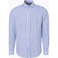 Koszule męskie na spinki: Polo Ralph Lauren – Męska koszula lniana, niebieski