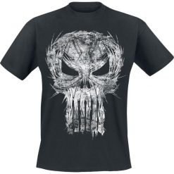 T-shirty męskie: The Punisher Shatter Skull T-Shirt czarny