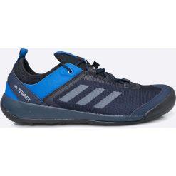 Adidas Performance - Buty Terrex Swift Solo. Szare buty trekkingowe męskie adidas Performance, z gumy, na sznurówki, outdoorowe. W wyprzedaży za 299,90 zł.