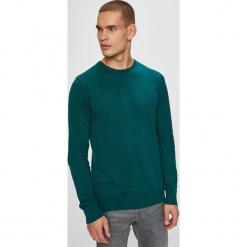 Brave Soul - Sweter. Szare swetry klasyczne męskie Brave Soul, l, z bawełny, z okrągłym kołnierzem. Za 69,90 zł.