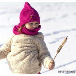 Czapka zimowa beanie fuksja. Czerwone czapeczki niemowlęce marki Pakamera, na zimę. Za 65,00 zł.
