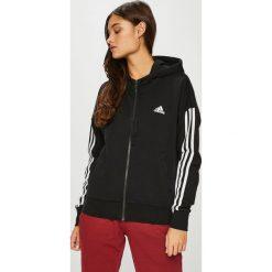 Adidas Performance - Bluza. Szare bluzy z kieszeniami damskie adidas Performance, l, z bawełny, z kapturem. Za 249,90 zł.