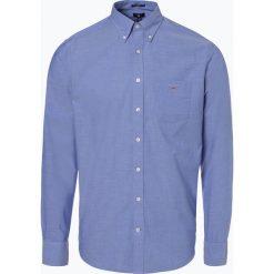 Gant - Koszula męska, niebieski. Niebieskie koszule męskie na spinki GANT, l. Za 379,95 zł.