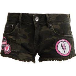 Bermudy damskie: Superdry HOT Szorty jeansowe punk