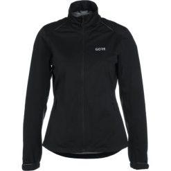 Gore Wear ACTIVE Kurtka do biegania black. Czarne kurtki damskie do biegania Gore Wear, z materiału. W wyprzedaży za 587,30 zł.