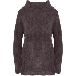 Brązowy Sweter Deluge. Brązowe swetry klasyczne damskie marki Born2be, na jesień, l, z golfem. Za 74,99 zł.