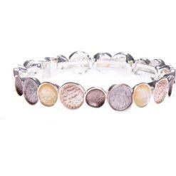Bransoletki damskie: Bransoletka z beżowymi kamieniami QUIOSQUE